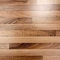 versiegeltes Holz
