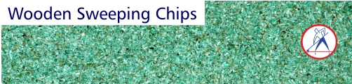 Wooden Sweeping Chips